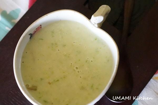 提神早餐蘆筍湯