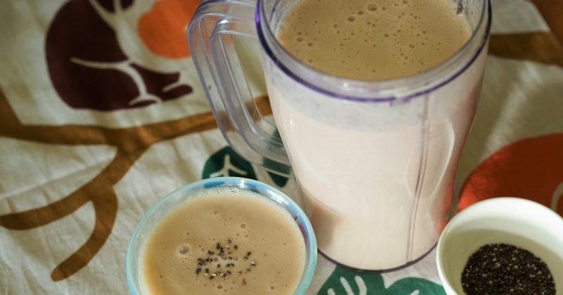 長芋香蕉牛奶smoothie