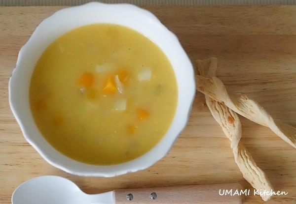 薯仔雜菜木魚湯