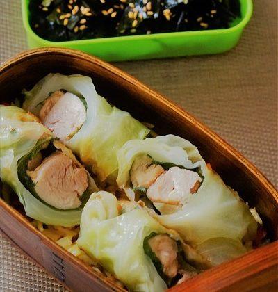 鹽麴雞柳木魚湯椰菜卷