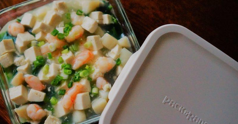 蒸蛋白海鮮粒
