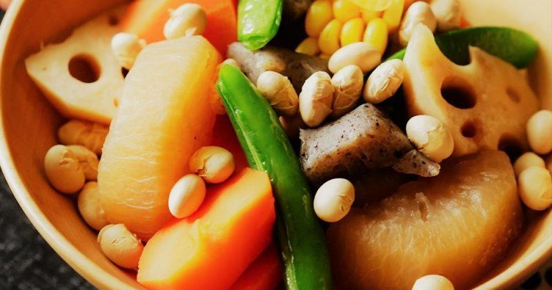 黃豆根菜煮