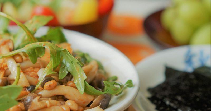 納豆本菇泡菜紫菜包