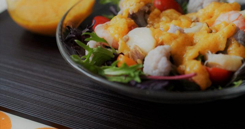 杮醬海鮮沙律
