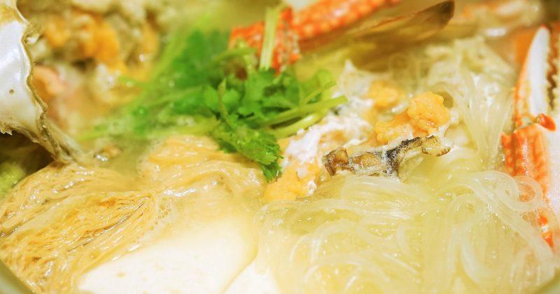 味噌粉絲蟹鍋