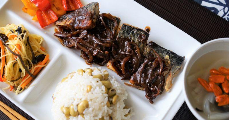 八丁味噌醬拌燒鯖魚