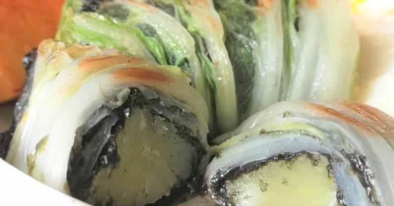 蕃薯紫菜大白菜卷